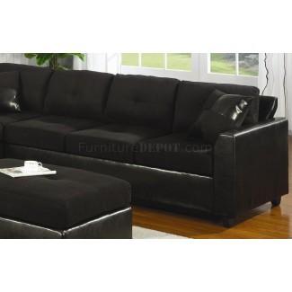 21 ideas de funda para sofás seccionales de cuero | Sofá
