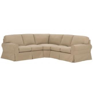 Muebles: Sofá seccional con cubierta bonita para cómoda ...
