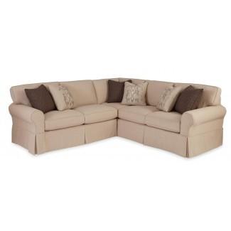 Fundas de sofá seccionales de 2 piezas Maytex Stretch 2 piezas ...