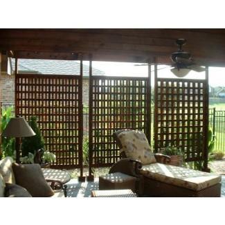 pantalla de privacidad para exteriores de madera | pantalla de privacidad para exteriores