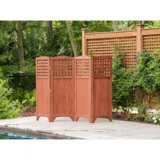Pantalla de privacidad para patio y jardín plegable para la temporada de ocio ...
