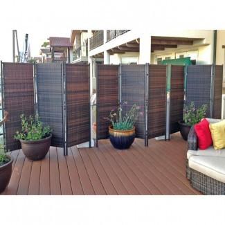 Pantalla de privacidad para exteriores Bamboo | BreakPR