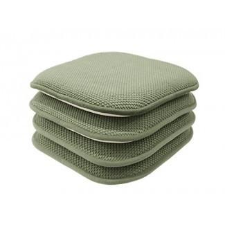 GoodGram, paquete de 4 antideslizantes, Honeycomb Premium Comfort Memory ...