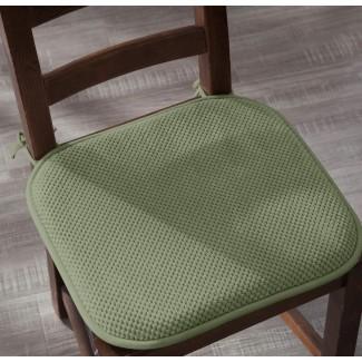 Paquete de 4: Ellington Home - Cojín de asiento antideslizante de espuma con memoria