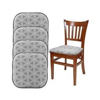Almohadillas para silla de cocina antideslizantes   Cojín del asiento