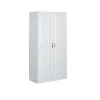 """ClosetMaid 36 """". Almacenamiento de panel elevado laminado de 2 puertas ... [19659038] ClosetMaid 36 """". Almacenamiento laminado de panel levantado de 2 puertas ... </div> </p></div> <div class="""