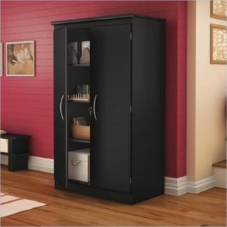 Armarios de almacenamiento negros inspiradores # 3 Armario de almacenamiento negro ...