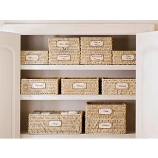 11 maneras de tener increíbles canastas de almacenamiento para estantes como