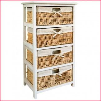Mejor canasta de almacenamiento de canastas para estantes ...