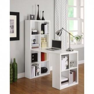 Ameriwood Home London Hobby Desk con cubos de almacenamiento ...