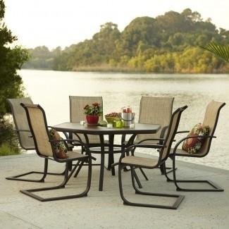 Muebles emocionantes con vista al lago con los tesoros del patio Garden Treasures