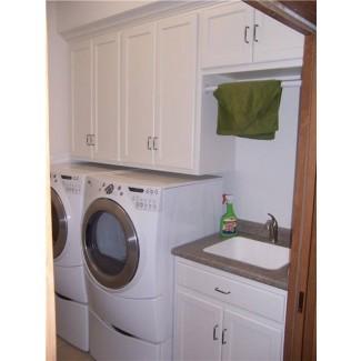 Lavabo maravilloso para lavadero con gabinete # 7 Lavadero ...