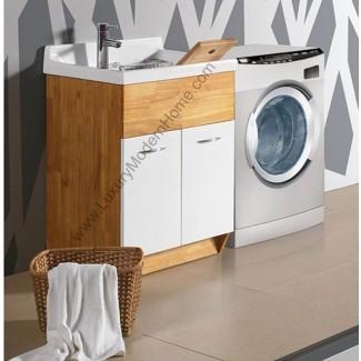 Lavabo con lavabo   IDEAS DE DECORACIÓN