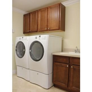 Cuarto de lavado con gabinetes personalizados + fregadero - RJM Custom