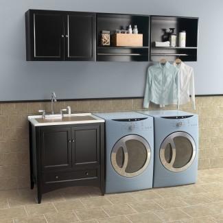Gabinete de pared de lavandería Foremost Berkshire - Servicio de lavandería ...