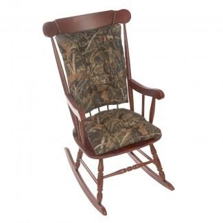 Cojín de silla mecedora interior / exterior Gripper Realtree Jumbo