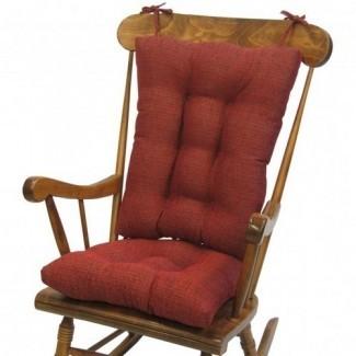 Juego de cojín para silla mecedora ikea cojines