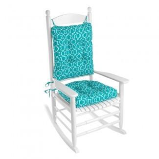 Juego de cojín para silla mecedora de 2 piezas Klear Vu Outdoor