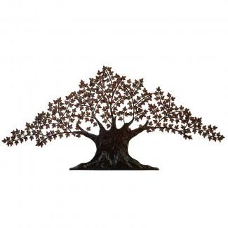 """92 """"Decoración artesanal urbana de la pared del arte del metal del árbol de la vida urbano grande"""