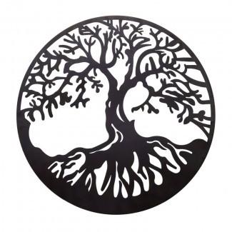 Decoración de pared de metal Tree of Life
