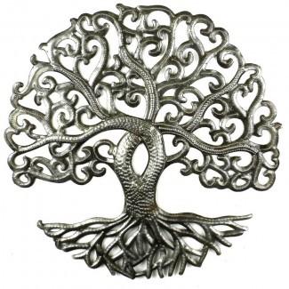 Decoración de pared 'Tree of Life Curly'