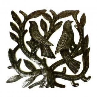 Decoración de pared 'Tree of Life and Birds'