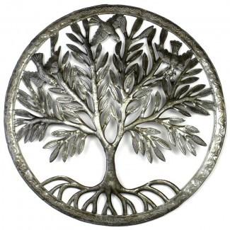 Tree de la decoración de la pared del anillo de la vida