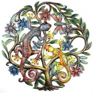 Decoración de la pared del árbol de la vida 'Gecko 19659016] Decoración de pared 'Gecko Tree of Life' </div> </p></div> <div class=