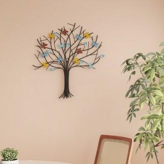 Decoración de pared de metal de Tree of Life