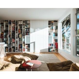 Ideas de diseño para el hogar de estanterías de piso a techo, imágenes ...