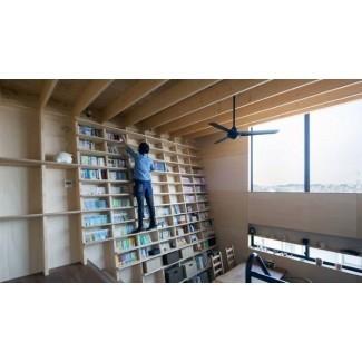 Las 70 mejores ideas de estanterías de suelo a techo - Pared