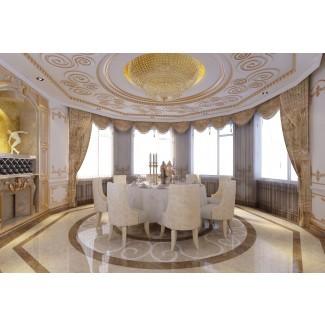 Las mejores cortinas de comedor italianas en ventanas saledizas para extra