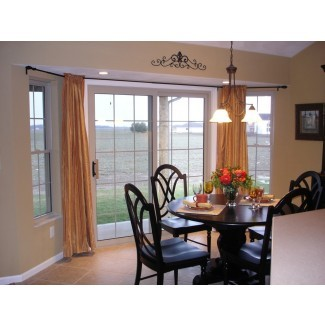 bay-window-curtain-rod-Pool-Traditional-with-none ..