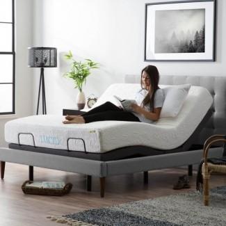 Base de cama ajustable Lucid L300, Queen -