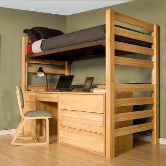 UNIVERSITY LOFT GRADUATE SERIES TWIN XL OPEN LOFT BED ...