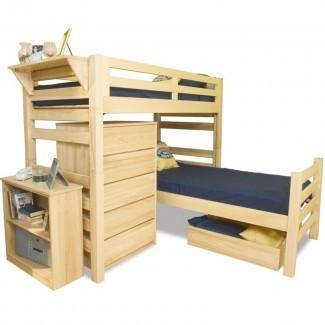 University Loft Graduate Series Twin XL Sr Crew Loft Bed