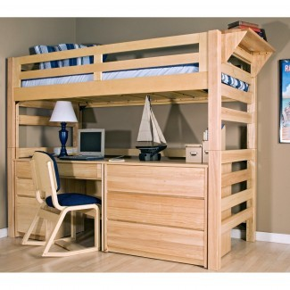 Graduate Series Open Twin XL Loft Bed - Literas
