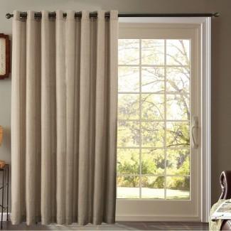 Tratamientos para ventanas para puertas corredizas de vidrio (IDEAS & TIPS)