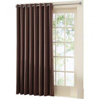 Panel de cortina superior de ojal para puerta de patio Gramercy, de ...