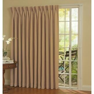 Ideas de cortina de puerta de patio   HomesFeed