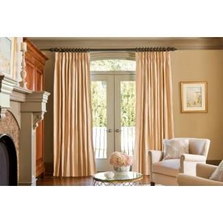 Grandes opciones de barras de cortina para puertas de patio   Designer ...