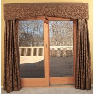 Cortinas para puertas de patio   Ideas para la sala de cortinas