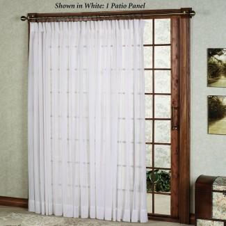 Ideas de cortinas para puertas de patio   HomesFeed
