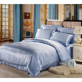 11 Cool Heavenly ¡Edredones azules para un dormitorio tranquilo!