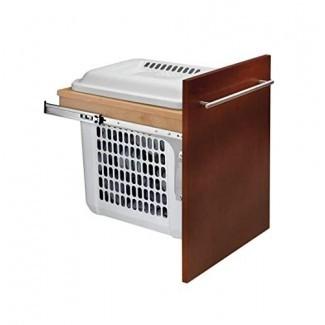 Soporte superior extraíble para cesto de madera con cierre estándar