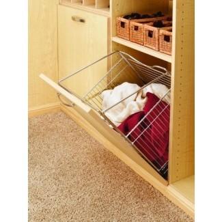 Cestas Rev-A-Shelf Closet Tilt Basket (Chrome),