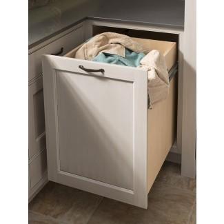 Cesta de lavandería extraíble para gabinete Ropa de lavandería extraíble ...