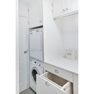 Extraiga el cajón del estante de secado e incline hacia afuera el gabinete del cesto