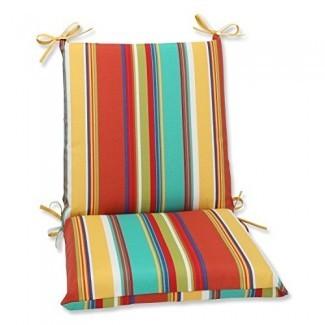 Cojín Perfect Outdoor Westport Spring Cojín para silla con esquinas cuadradas de primavera, multicolor