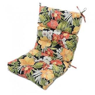 Greendale Home Fashions 44 x 22 in. Cojín para silla con respaldo alto para exteriores
